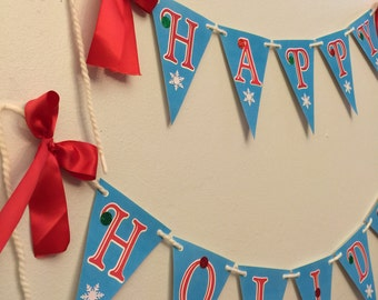 Happy Holidays Christmas Banner