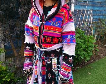 upcycled elfin coat