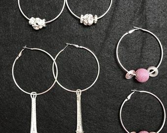 Beautiful hoop earrings!