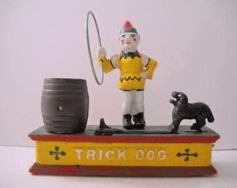 Mechanical Bank  Trick Dog Bank