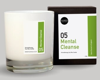 Mental Cleanse™ Aromatherapy Treatment Candle (1 wick)