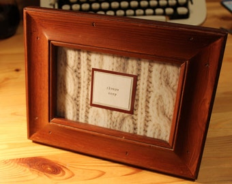Framed Quote Etsy