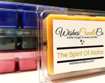 Custom 4 Pack of Wishes Candle Co Wax Tart Samplers