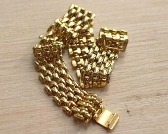Bracelet Golden 80s