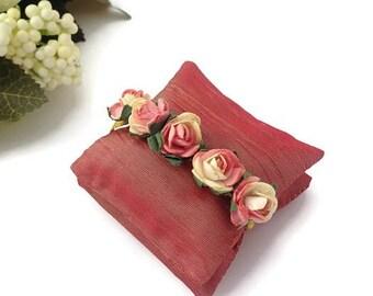 Rosa boda Shabby chic boda, favores de la despedida de soltera, babyshower único, bolsas de lavanda rosa de oro