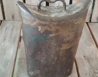 Vintage Cow Bell/Metal Cow Bell/Brass Cow Bell/Vintage Bell/Metal Bell/Old Cow Bell/Metal Bells/Farm Bell/Cow Bell/Brass Bells