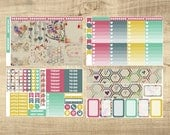 To the Moon & Back | Valentine's Day 4 Page Weekly Kit for Erin Condren Vertical LifePlanner