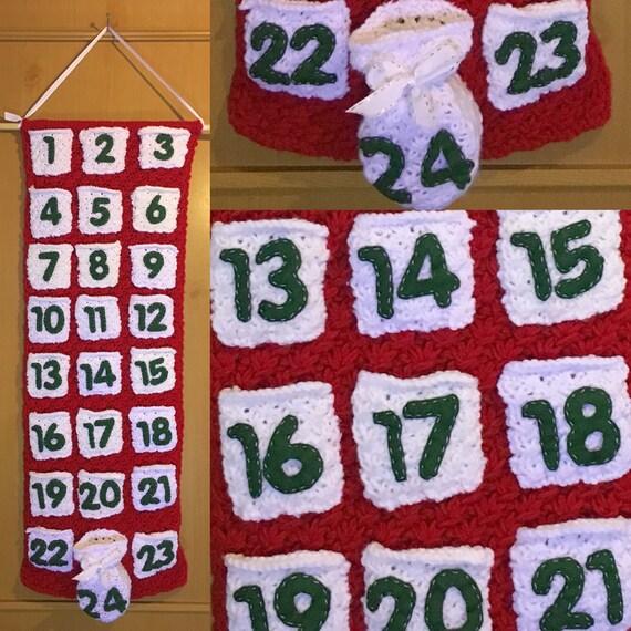 Advent Calendar Handmade Knitting : Advent calendar handmade knitted