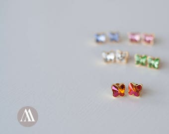 SWAROVSKI BUTTERFLY EARRINGS