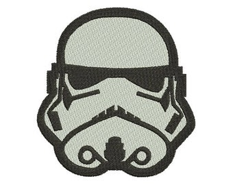 12size -Storm Trooper Star Wars Embroidery Design- Instant Download