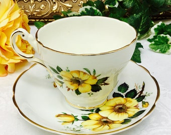 Regency teacup and saucer.