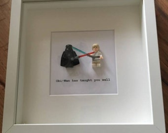 Star Wars Darth Vader and Luke Skywalker picture