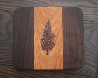 Fir Tree Serving Board
