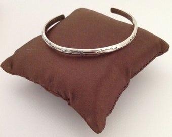 Sterling Cuff Bracelet, Sterling Silver Bracelet