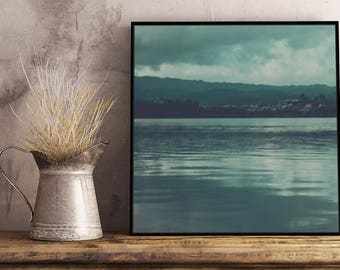 Blue Lake II Artwork - Framed / Unframed canvas / Print