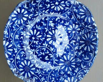 blue and white bowl, japan ceramic bowl, japan blue and white, japan pottery, collectible bowl, blue and white dinnerware, japan porcelain