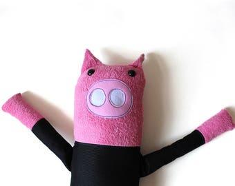 """handmade piggy """"Ferdinand"""""""