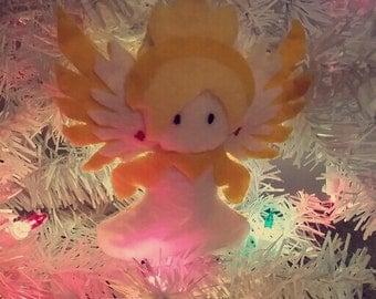 Mercy Overwatch Winter Wonderland Ornament