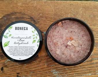 Himalayan Salt & Rose Body Scrub
