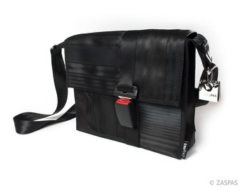 Recycled seatbelts bag - BLK 35-14