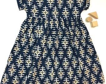 4T Girls Cotton Boho Dress