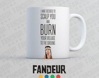 "Wednesday Addams ""I have Decided to Scalp You...."" Coffee / Tea Mug"