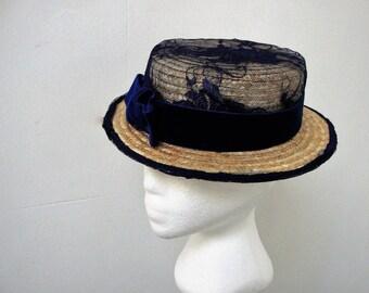Boater Anil-tocado invitada-tocado-hats-