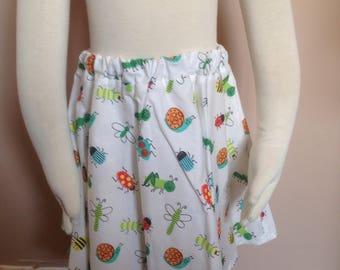 Hand made bugs skirt