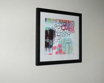 8x8 inch print of original art / matte paper print