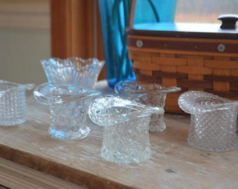 Clear Bud Vases and Hats