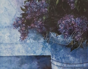 Lilacs: Digital Print by Colleen Carson