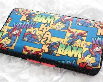Superman Travel Baby Wipes Case