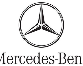 Mercedes stickers etsy for Mercedes benz logo decals stickers