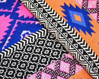 Multi Designs Jacquard Cotton Fabric, Upholstry Jacquard Cotton Fabric