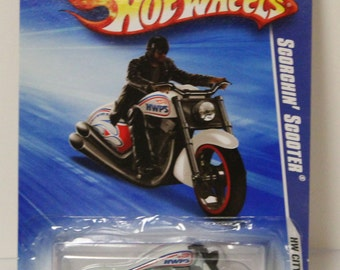 Hot Wheels City Works Scorchin Scooter # 112