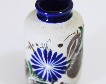 Vintage Mexican Mini Flower Vase