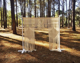 Macramé Wedding Arch / Backdrop