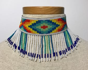 Embera Beaded Handmade Choker