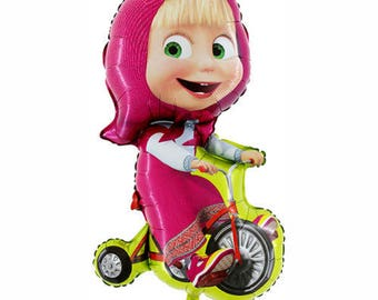 "MASHA and The Bear Balloon Foil 40""/ 100 cm"