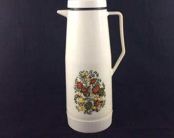 Vintage retro large serving thermos