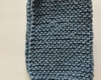 handmade {denim} dish cloth