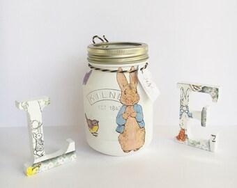 Peter Rabbit 0.5 or 1 Litre Kilner Jar - Beatrix Potter