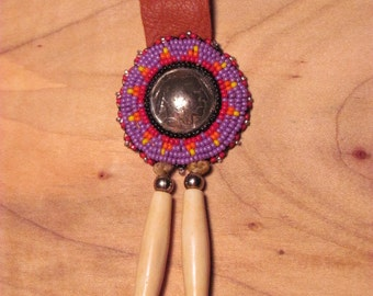 SALE! Native American Beaded Keychain Beaded Keyring