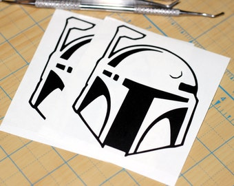 Star Wars Boba Fett Vinyl Sticker | Boba Fett Decal