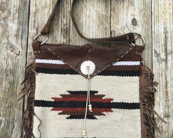 Saddle blanket purse/bag -The Bronco