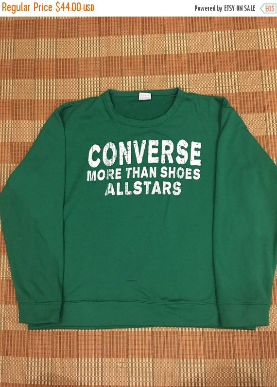 645648bf56488 50%OFF 50% OFF Vintage 90s CONVERSE All Star Green by ...