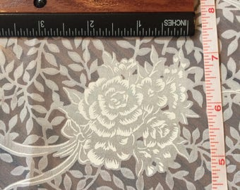 Wedding Lace Print Fabric