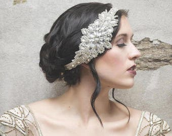 Tilly Crystal and Rhinestone Bridal Headband