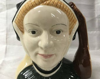 Vintage Royal Doulton Jayne Seymour Large Character Jug D6646 Henry VIII Six Wives