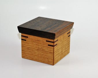Wooden Ring or Trinket Box